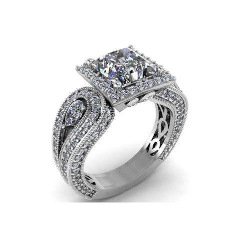 Love is For Ever Solitaire Engagement rings